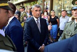 Premiér Andreje Babiš byl u Rozhlasu pod drobnohledem ochranky