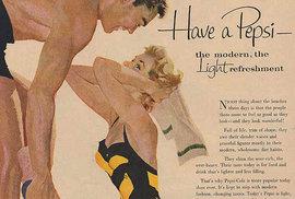 Historické reklamy na Pepsi Colu