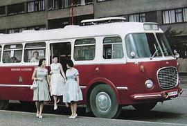 Připomeňte si legendární československý autobus z 50. let. Škoda 706 RTO v plné kráse