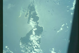 Pohled na Zemi z paluby Apolla 7