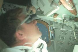 Jedinečné fotografie z paluby Apolla 7 aneb Ještě než člověk přistál na Měsíci
