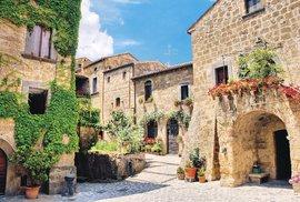 Viterbo: Malebné italské městečko, kde sídlil i papež