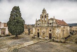 Nejposvátnější místo Řecka. To je klášter Moni Arkádi se svojí tragickou minulostí
