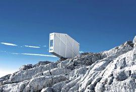 Skvosty v alpských výšinách. To jsou nové horské chaty od slovinských architektů