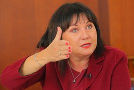 Ministryně financí Alena Schillerová v rozhovoru pro Blesk Zprávy