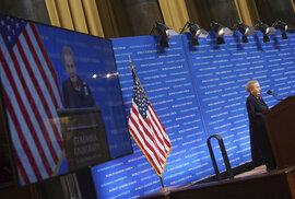 Den české státnosti na Kolumbijské univerzitě v New Yorku s Madeleine Albrightovou a Václavem Havlem
