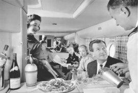Takhle se cestovalo letadlem ve zlaté éře letectví.