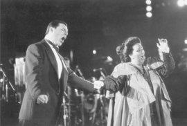 Montserrat Caballéová nazpívala slavný duet s Freddiem Mercurym Barcelona