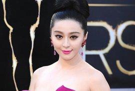 Nejslavnější čínská herečka Fan Ping-Ping také na několik týdnů zmizela.