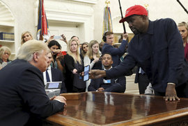 Donald Trump a Kanye West
