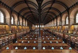Sainte-Geneviève Library, Paříž, Francie