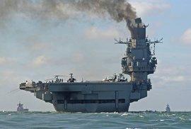 Admirál Kuzněcov začal hořet při opravě. Jediná ruská letadlová loď je dlouhodobě…