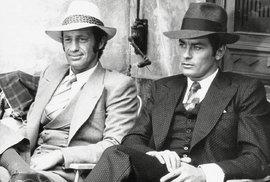 Ve filmu Borsalino zazářili oba herci - Delon i Belmondo.