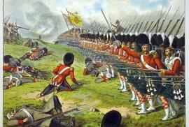 Krymská válka, bitva na řece Almě. 93. pluk skotských horalů