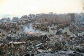 Krymská válka, obléhání Sevastopolu od Franze Roubauda