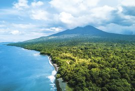 Severní část indonéského ostrova Celebes: Nerovný boj přírody s člověkem
