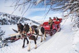 Advent v rakouském městečku Katschberg aneb Na saních za vánoční pohodou