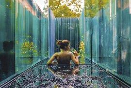 Netradiční hotel Les cols Pavellons: Užijte si magickou noc ve skle