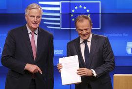 EU podpořila dohodu o brexitu. Cílem je zóna volného obchodu s těsnou celní a regulační spoluprací