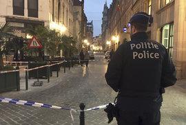 Alláhu akbar! křičel prý muž v centru Bruselu, pak pobodal policistu. Byl to zbabělý útok, řekl ministr
