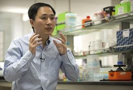 Čínský vědec šokoval svět: Stvořil jsem první geneticky upravené děti na světě. Jsou to…