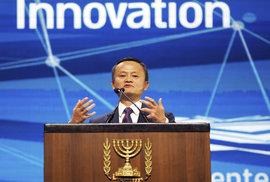 Nejznámější čínský podnikatel a zakladatel společnosti Alibaba Jack Ma
