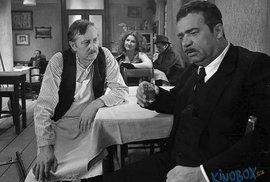 1980 S Vladimírem Menšíkem ve filmu Lásky mezi kapkami deště.