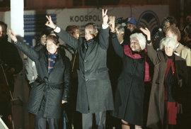 Osobní vzpomínka na George Bushe st.: Václavák bouřil při jeho projevu nadšením, Češi…