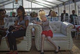 Albinism Society of Kenya uspořádala pro africké albíny soutěž krásy