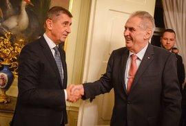 Prezident Zeman jmenoval tři nové ministry vlády. Babiš má už čtvrtého ministra spravedlnosti za jediný rok