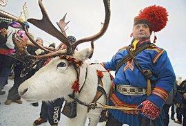 Sámský trh v Jokkmoku