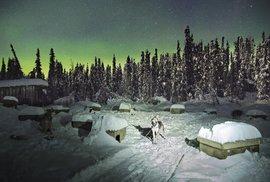 Se psím spřežením po sněhových pláních Aljašky