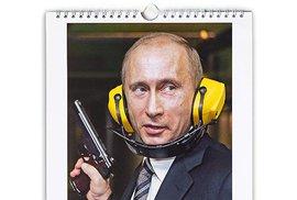 Kalendáře s Vladimirem Putinem jsou v Japonsku hitem