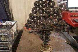 I takhle může vypadat vánoční stromek