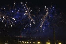 Podívaná za 1,7 milionu. Podívejte se na celý záznam pražského novoročního ohňostroje