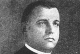 Jozef Tiso, cca 1918. S laskavým svolením Slovenské národní knižnice, Archivu literatury a umění (SNK-ALU), ST 26/3.