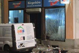 V Německu přituhuje. Před kanceláří opoziční strany AfD vybuchla nálož, poničila…