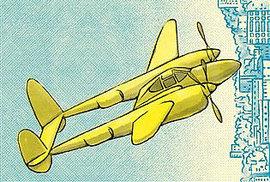 Báječní muži na létajících strojích ve skvělém románu, Antoine de Saint-Exupéry mezi nimi