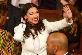 Mladá kongresmanka byla čerstvě uvedena do úřadu