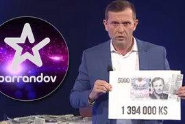 Televize TV Barrandov slaví 10 let vysílání. V dnešní době je bezesporu její nejvýraznější tváří moderátor a majitel mediální skupiny Empress Media Jaromír Soukup.