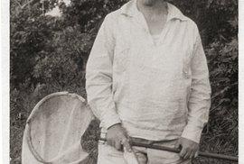 Doktorka Kálalová dodala Muzeu sbírku hmyzu