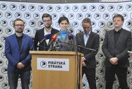 Česká pirátská strana, vedení