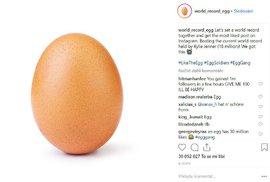 Vejce, prostě jen vejce aneb Jak získat 30 milionů lajků a se stát rekordmanem Instagramu