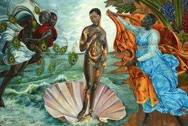 Ježíš, Venuše a Adam jako černošky? Umělkyně přetváří klasická díla evropského umění