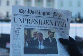 Trump rezignoval a svět slaví! Tedy aspoň na stránkách falešného Washingtonu Post