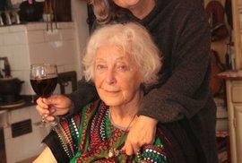 Květa Fialová s dcerou Zuzanou Hášovou.