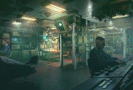 Pečlivě vytvořené interiéry ponorky ve videohře Kursk