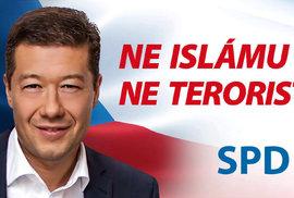 Okamura má pravdu, imigranti z islámských zemí jsou v Praze. Na žižkovském nádraží jich…