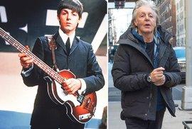 Paul McCartney je už v dědkovském věku...
