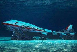 Bahrajn otevře největší podmořský park na světě, bude v něm i utopený Jumbo Jet